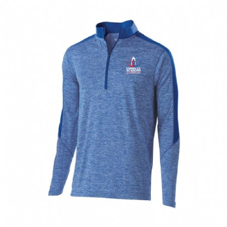 Youth Electrify 1/2 Zip Pullover - Royal