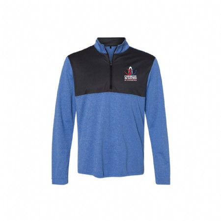 Adidas - Lightweight Quarter-Zip Pullover Royal Heather
