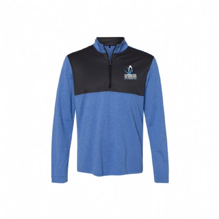 Adidas - Lightweight Quarter-Zip Pullover Royal Heather Tamina