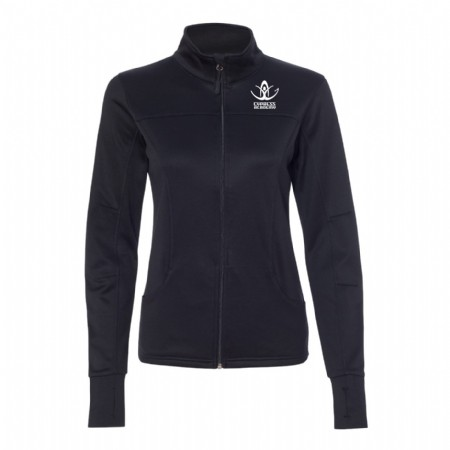 Independent Trading Co. - Women's Poly-Tech Full-Zip Track Jacket