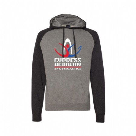 Independent Trading Co. Raglan Hooded Sweatshirt