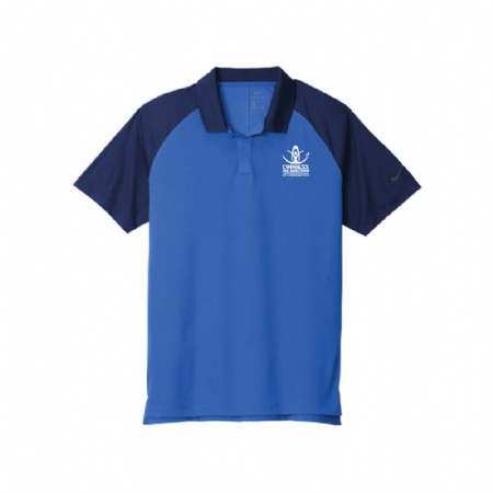 Nike Dry Raglan Polo - Game Royal